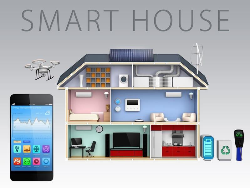 Návrhy a dodávky v oblasti riadenia inteligentných domov